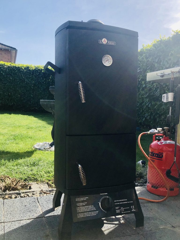 El Fuego Portland Gas-Smoker