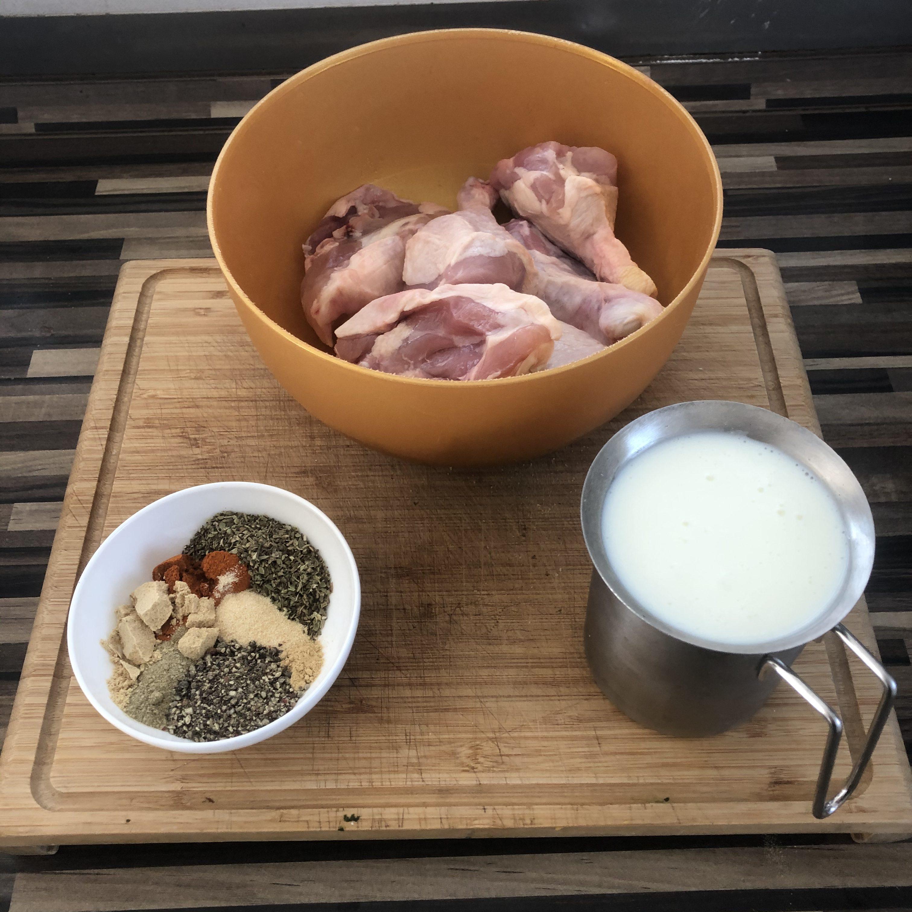 Fried Chicken aus dem Wok