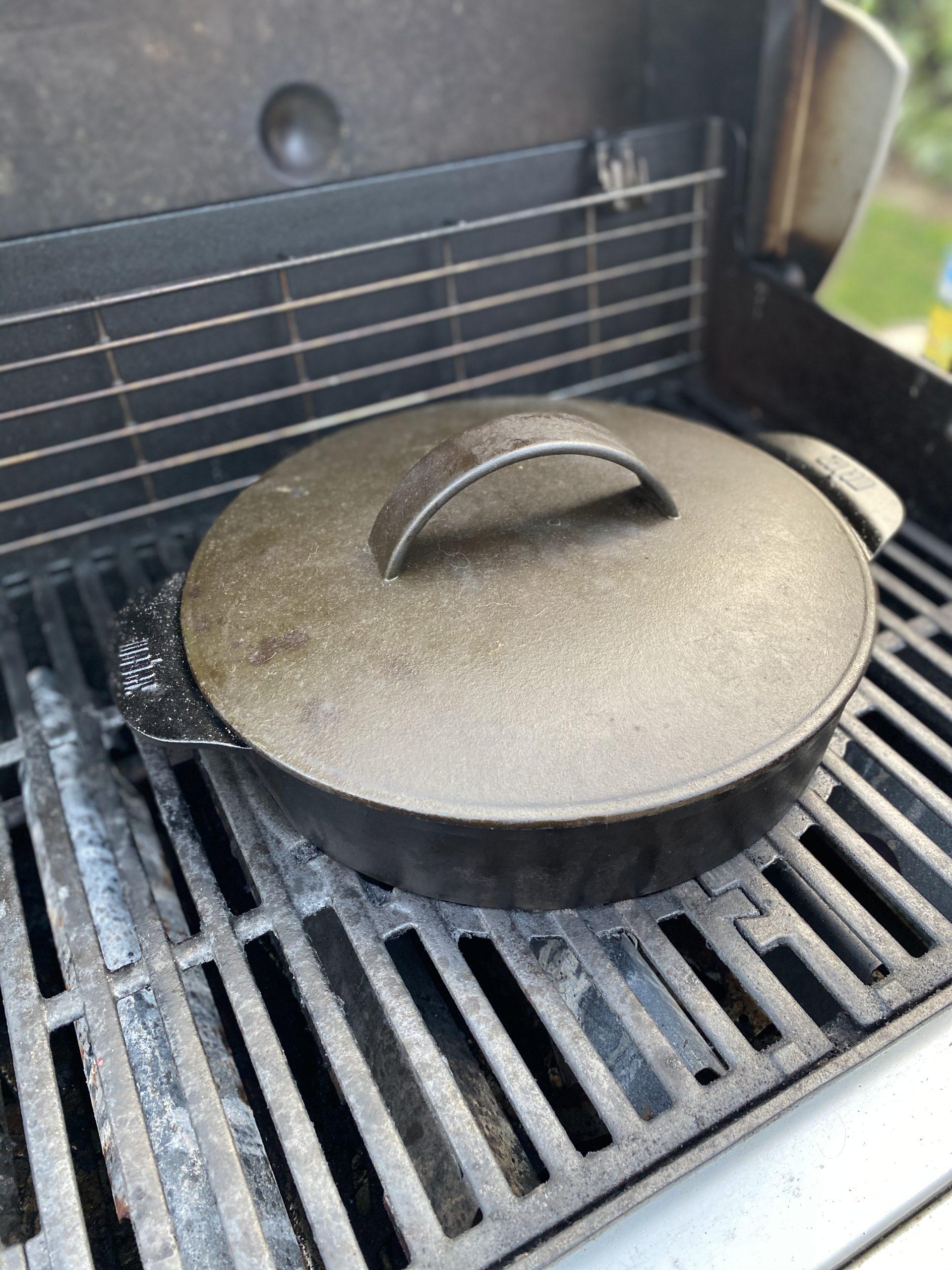 Sauerbraten aus dem Dutch Oven
